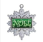 Express Antique Snowflake Holiday Ornament -