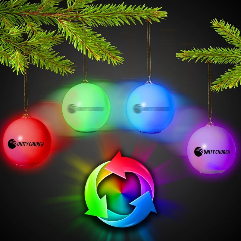 Main Product Image for Personalized Ornament Christmas LED