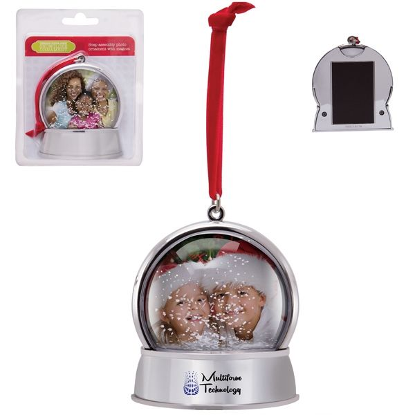Main Product Image for Personalized Ornament Magnetic Snow Globe