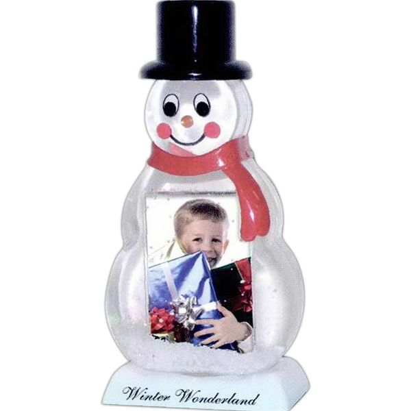Main Product Image for Custom Imprinted Snowman Snow Globe